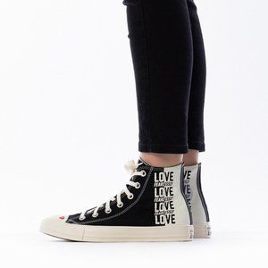 CONVERSE CHUCK TAYLOR LOVE FEARLESSLY HIGH TOPS